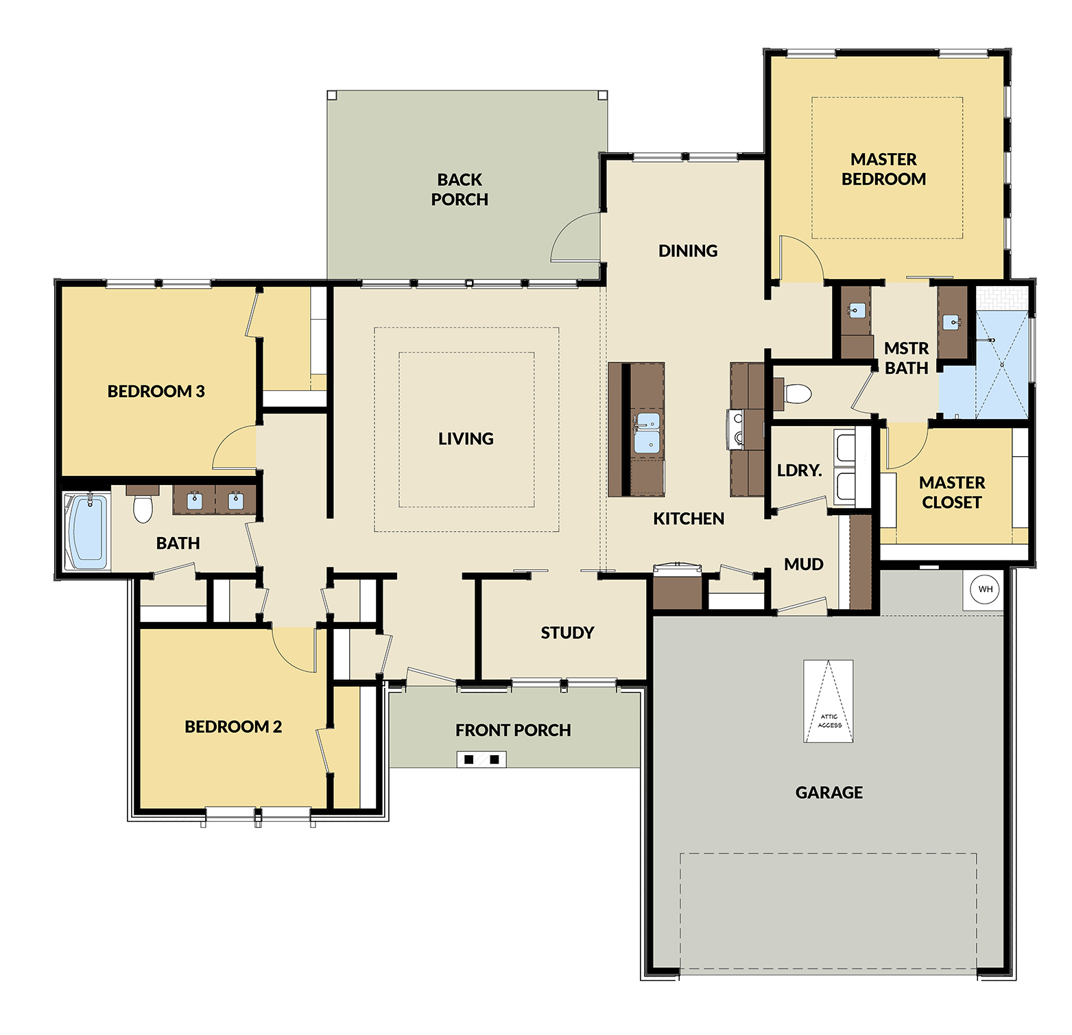 Town Hall Dr - Home Plan